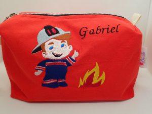 Trousse de toilette Pompiers Gabriel